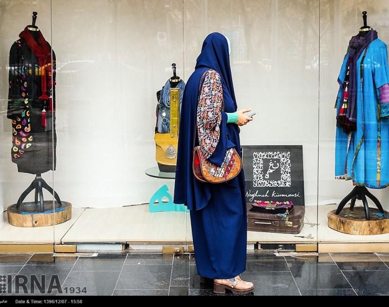 """Фестиваль исламской моды """"Фаджр"""" в Тегеране, Иран"""