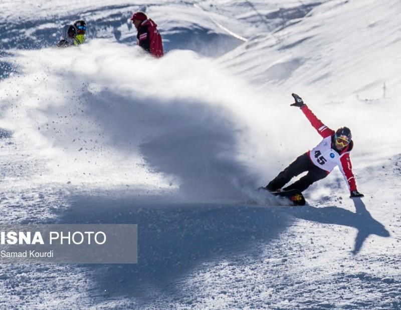 иран горные лыжи горы дизин