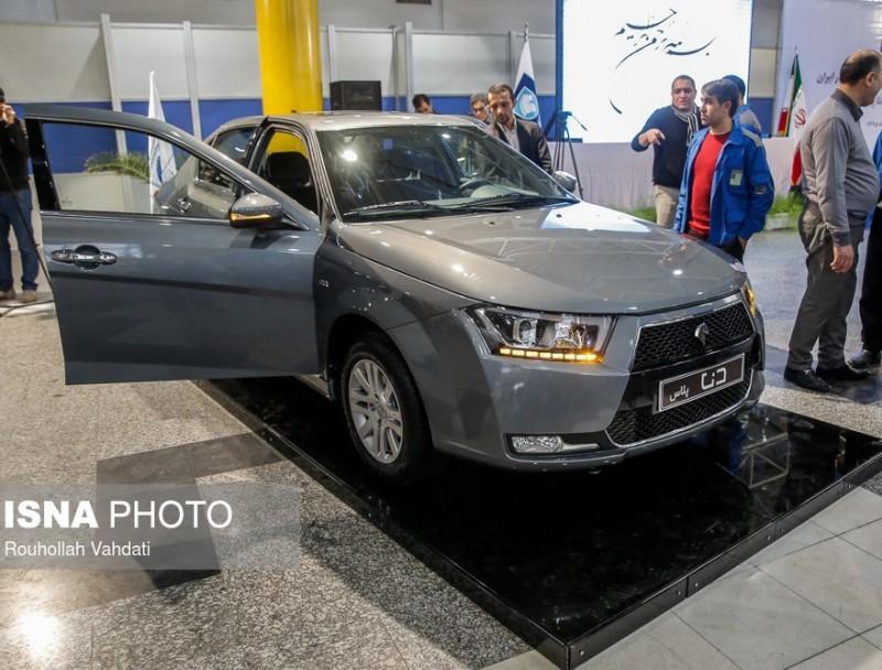 Автомобиль Iran Khodro Dena+