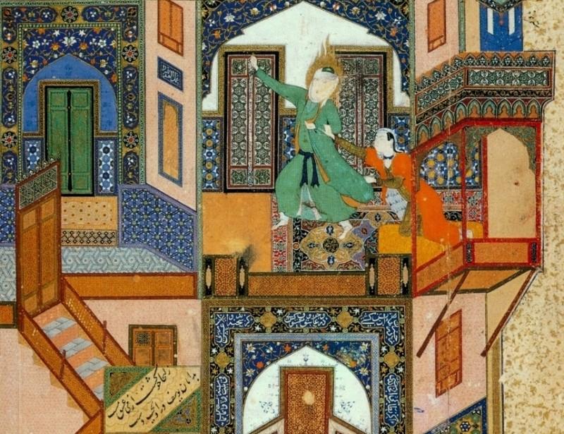 иран поэзия джами юсуф и зулейха миниатюра