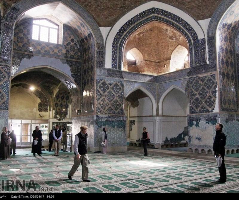 иран тебриз голубая мечеть архитектура