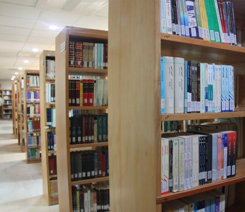 Библиотека Гуманитарного университета в Зенджане, Иран
