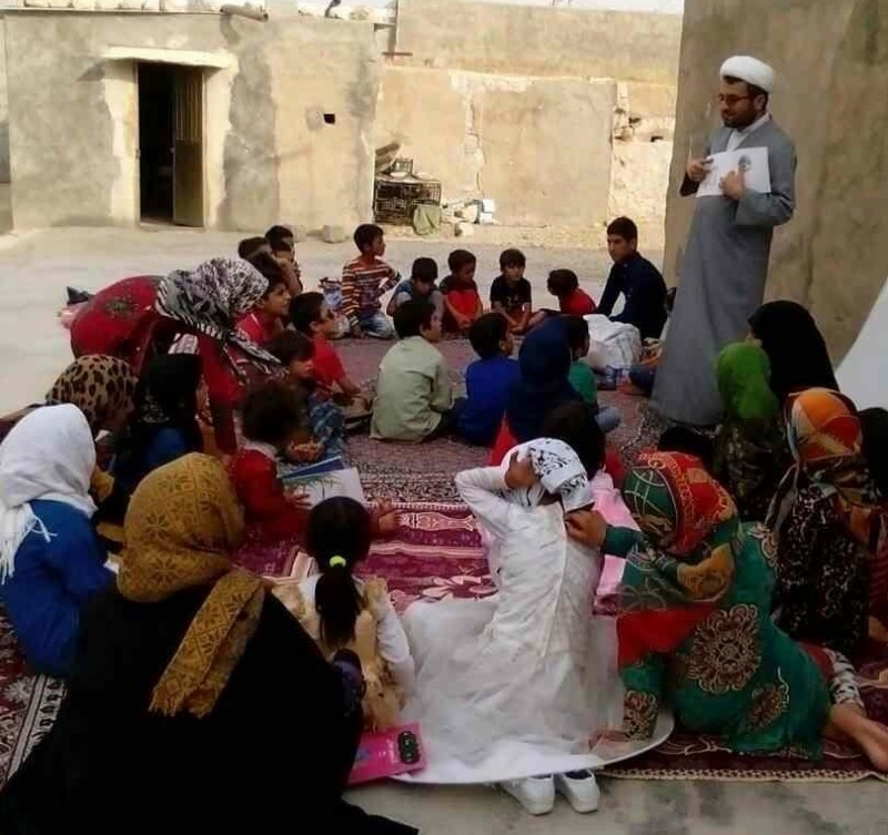 дети чтение книги кохгилуйе и бойерахмед иран