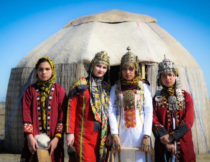 иран кочевники туркмен туркмены