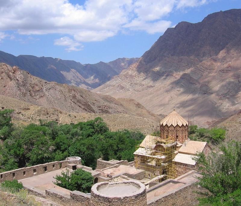Монастырь святого Степаноса в Иране