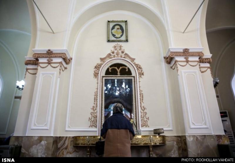 Зороастрийский храм в Тегеране