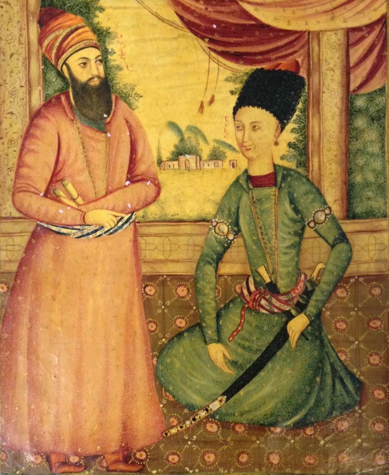 ага мухаммад каджары персия иран