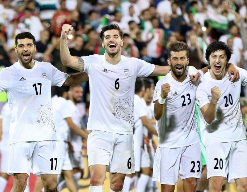 Игроки сборной Ирана по футболу