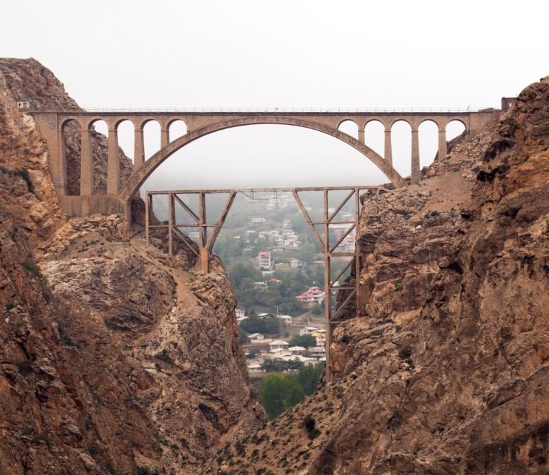 Мост Вереск в Иране