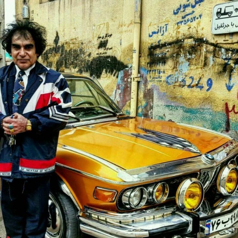 иран зенджан машина автомобиль bmw