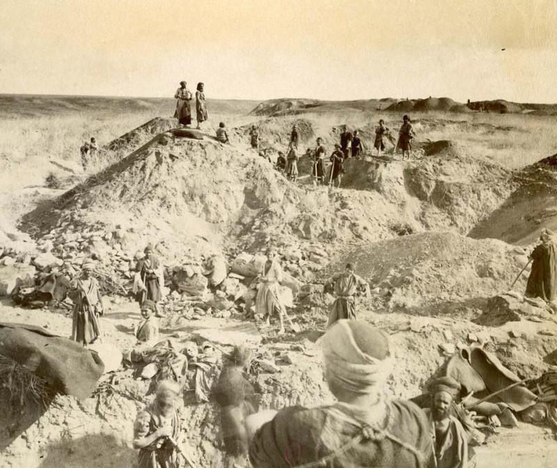 Раскопки Марселя Дьелафуа в Сузах, Иран