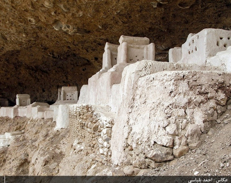 Кладбище зороастрийских мобедов в Иране