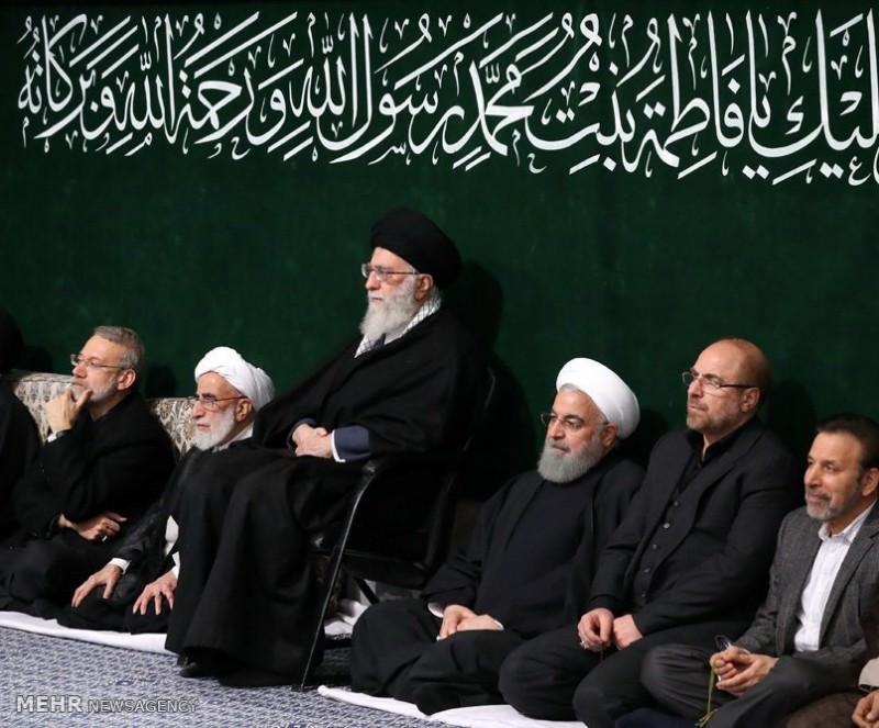 Траурная церемония в память о дочери пророка Мохаммада Фатеме