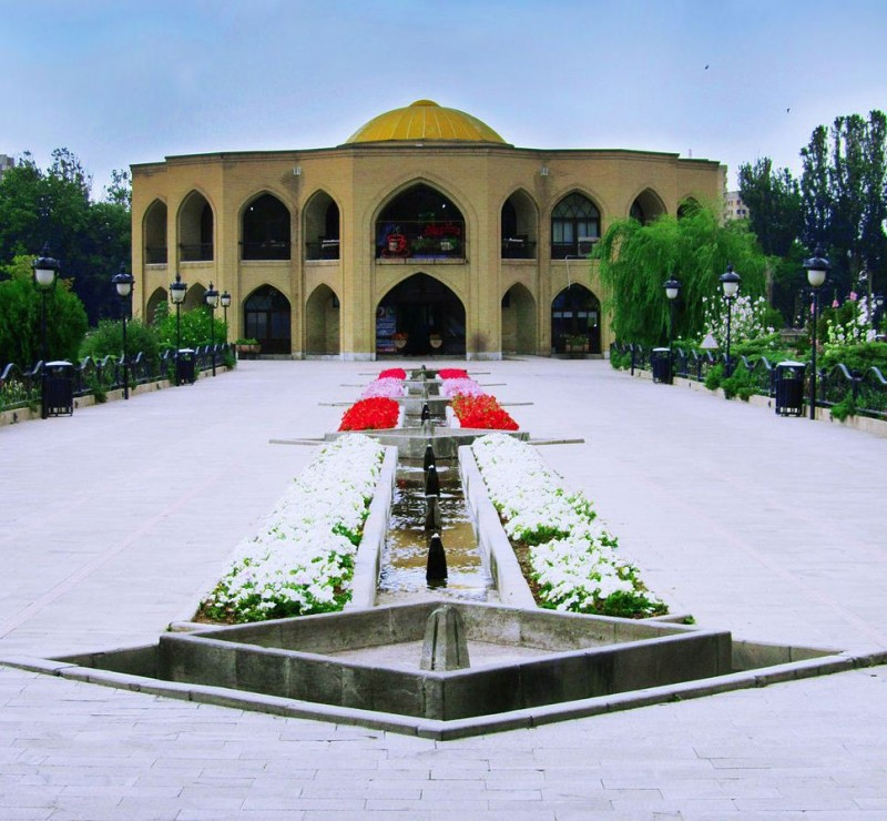 тебриз парк дворец каджары шах-голи