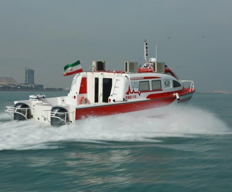 Водная скорая помощь Хормозган Иран