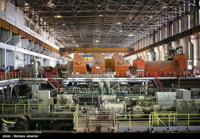 Тепловая электростанция Ахваз Иран