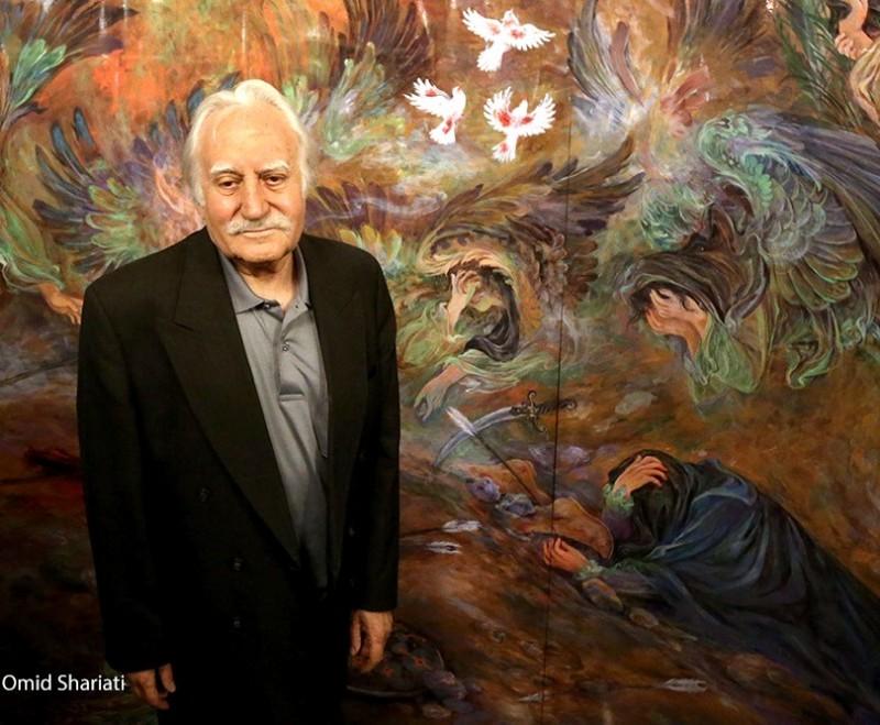 Иранский художник Махмуд Фаршчиан
