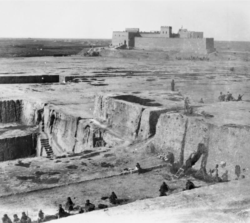 Французская крепость в Сузах (Шуш), Иран