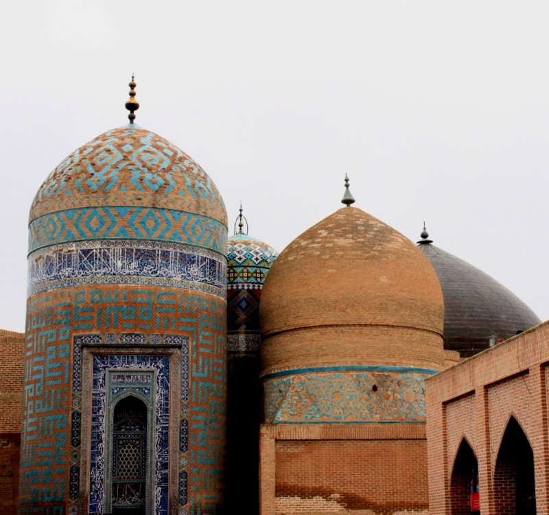 иран арбебиль мавзолей сефи ад-дин
