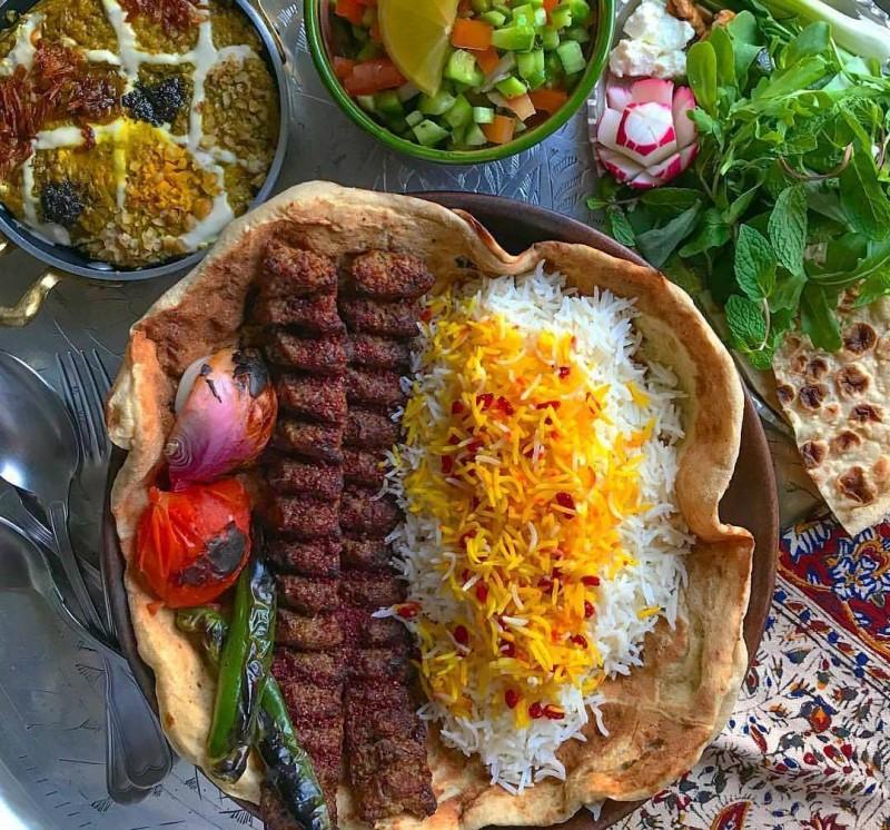 иран иранская кухня рис плов
