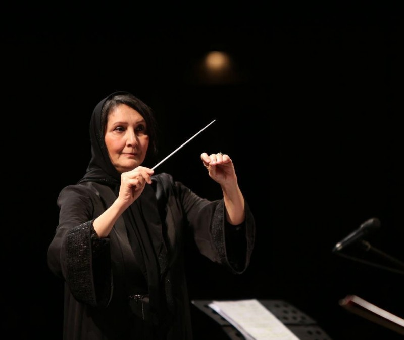 Нежат Амири - дирижер из Ирана