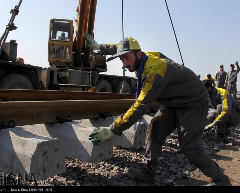 Железная дорога Казвин-Решт Иран