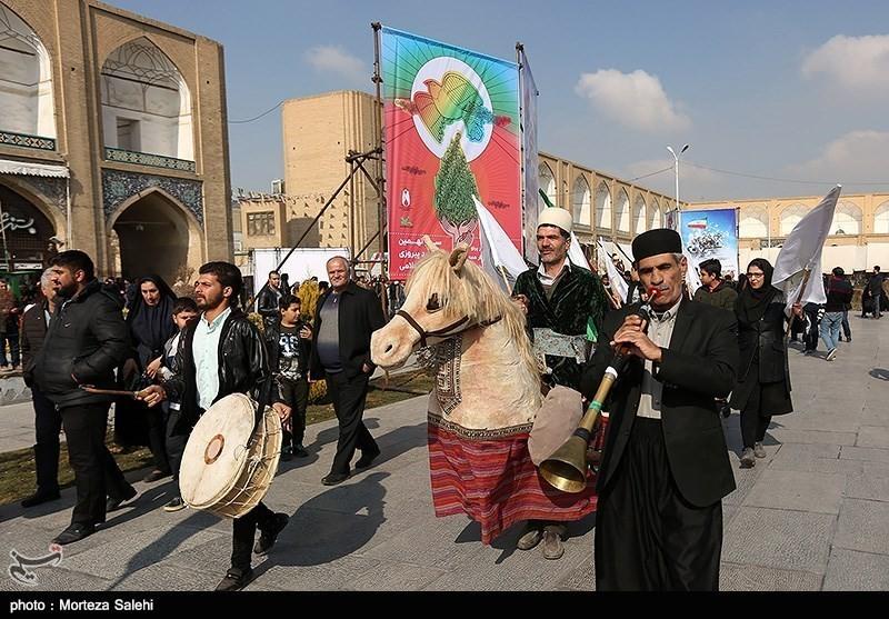 Конное поло в Исфахане, Иран