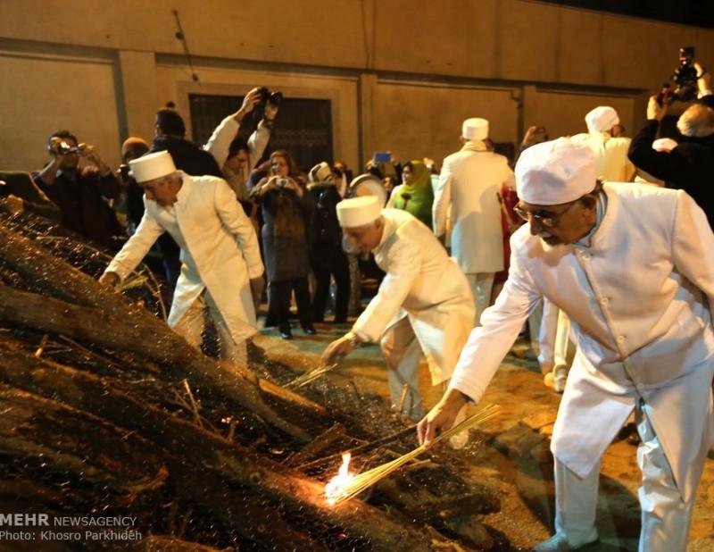 иран зороастризм зороастрийцы праздник огонь саде