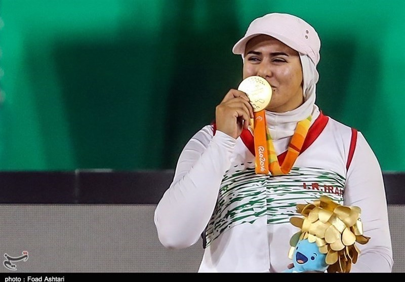 иран спорт паралучница захра немати стрельба из лука