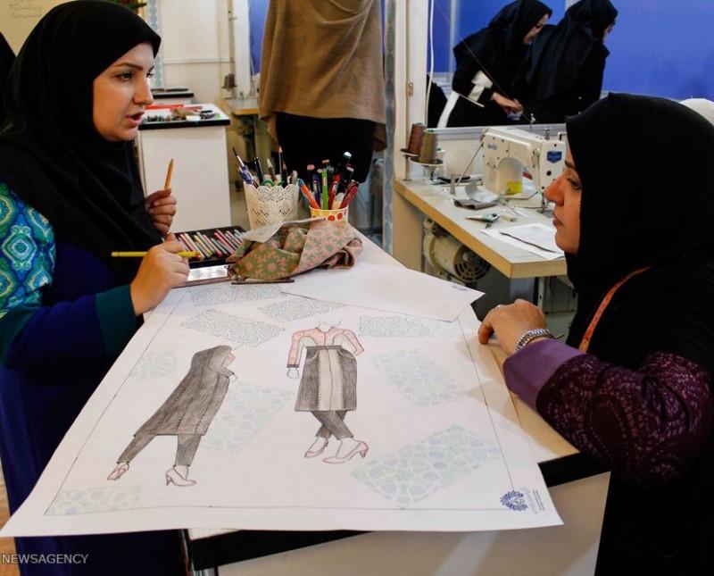 Фестиваль моды и одежды Фаджр Тегеран Иран