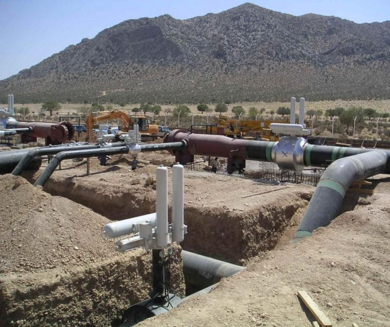 Газопровод в Иране