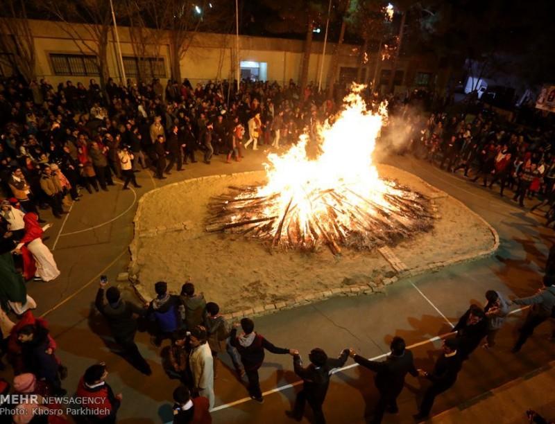 иран зороастрийцы зороастризм саде праздник огонь