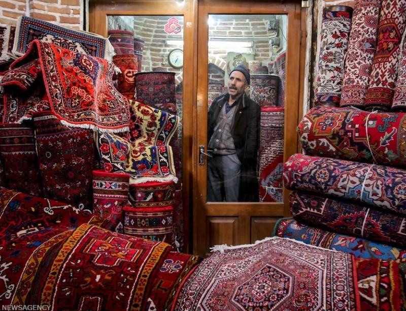Ковровый базар в Тебризе