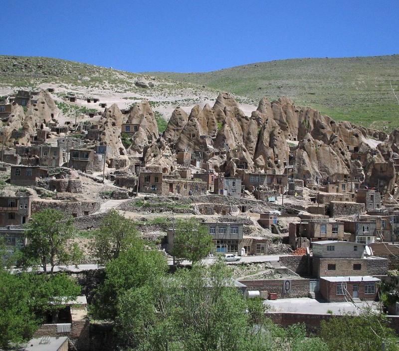 иран кандован деревня