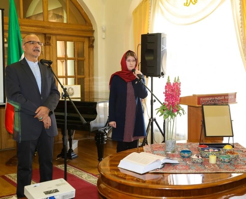 Открытие иранской выставки в Национальном музее Ирана