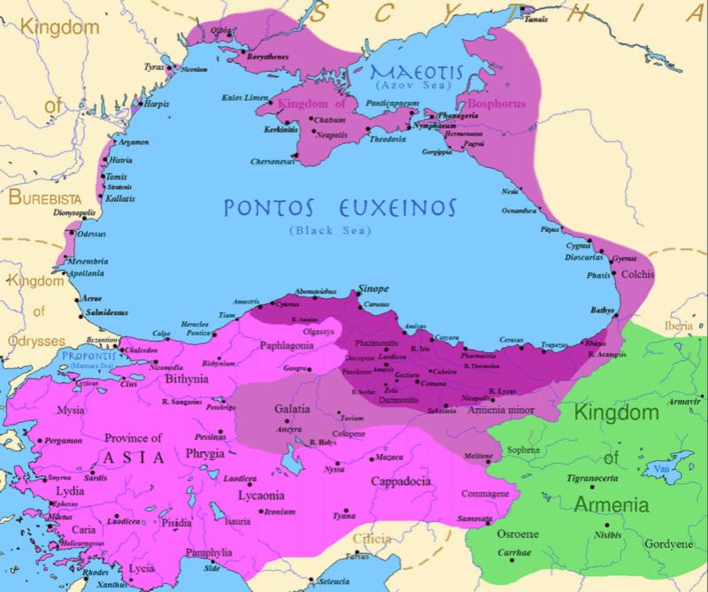 Понтийское царство в правление Митридата VI Евпатора