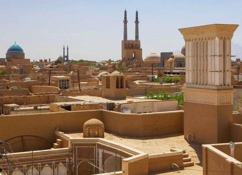 Город Йезд в Иране
