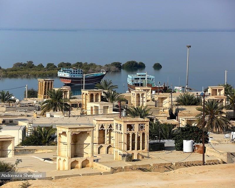 Деревня Лафт на острове Кешм, Иран