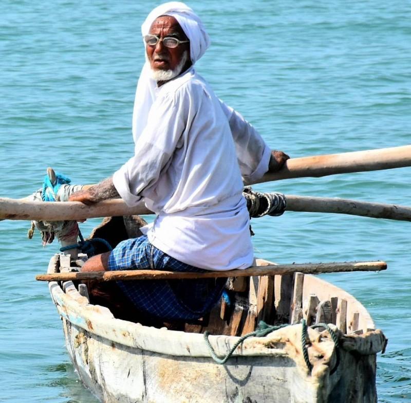 Остров Кешм, Персидский залив, Иран