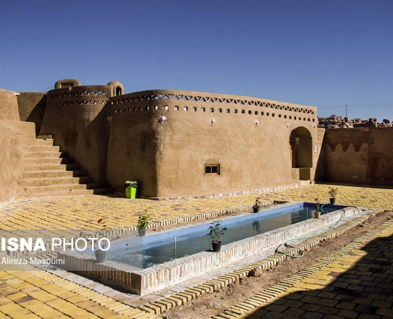 Деревня Корит в провинции Южный Хорасан в Иране