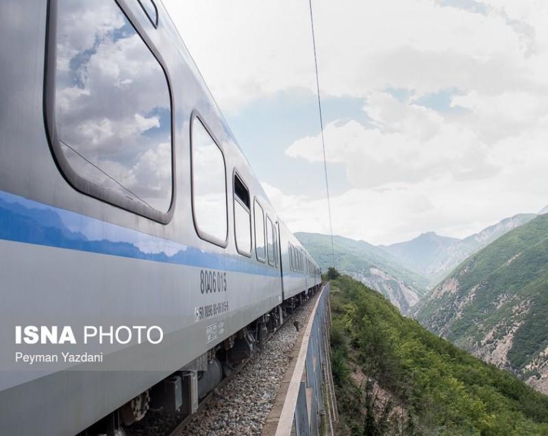 Железная дорога, Иран