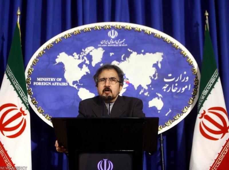 Бахрам Касеми МИД Ирана