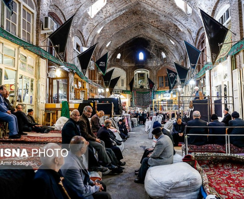 иран тебриз базар