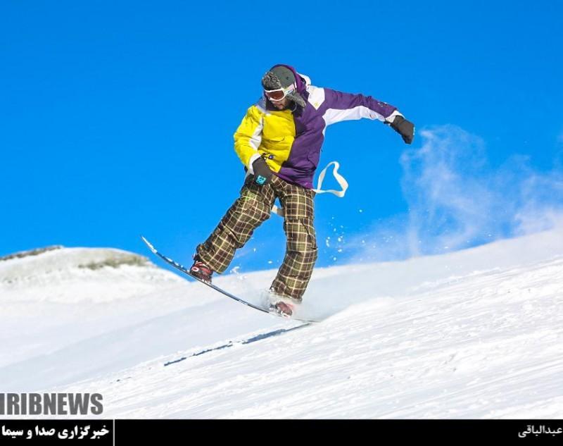 точал точаль иран тегеран горные лыжи горы