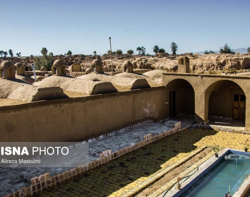 Деревня Корит в провинции Южный Хорасан, Иран