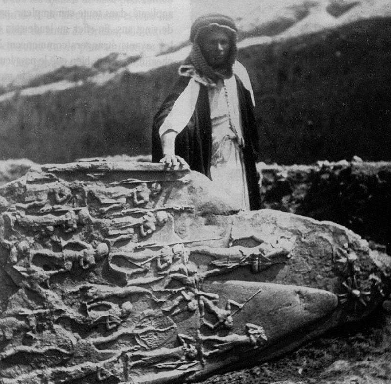 Раскопки в Сузах, Иран