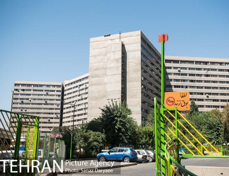 тегеран иран шахрак экбатан квартира жилье
