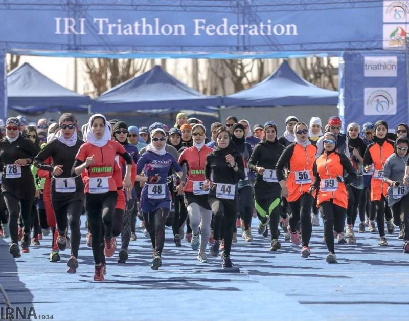 Соревнования по триатлону среди женщин, Тегеран