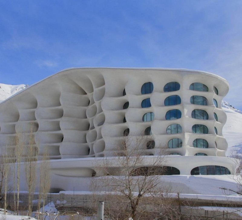 шемшак иран горы курорт горные лыжи